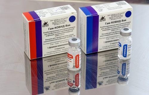 러시아가 자체 개발한 코로나19 백신 '스푸트니크 V'