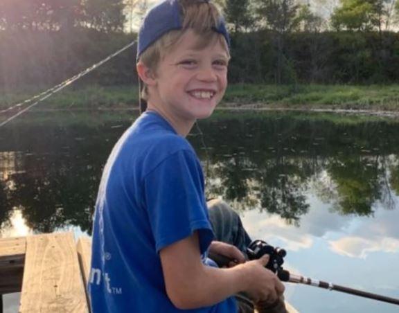 10살 소년 리키 스네베