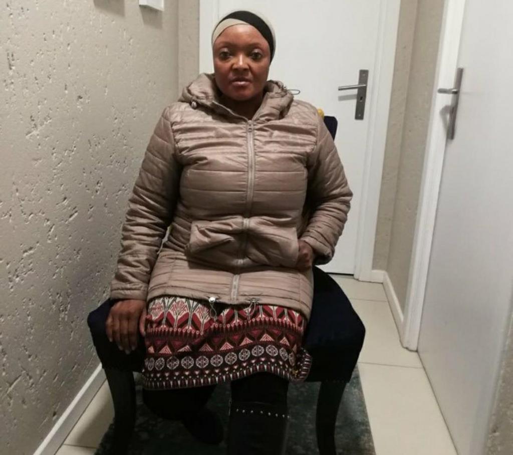 남아공 여성 고시아메 타마라 시톨레