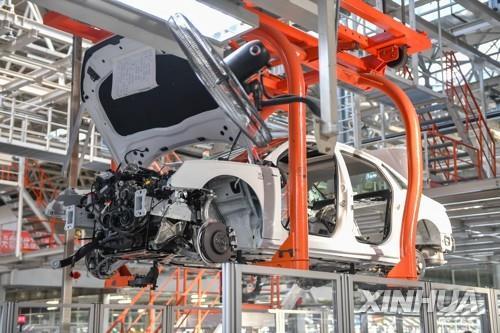 중국의 한 자동차 제조 공장(이번 사안과 무관)