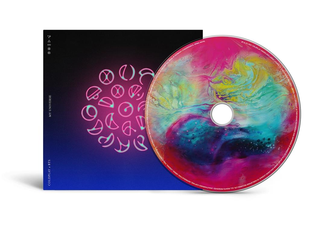 '마이 유니버스' 싱글 CD