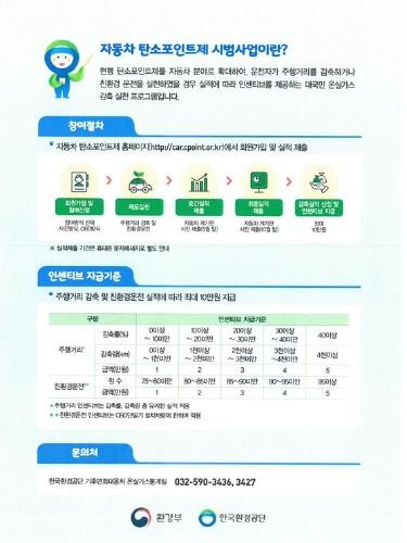 부산시, '자동차 탄소포인트제 시범사업' 참여자 모집 - 1