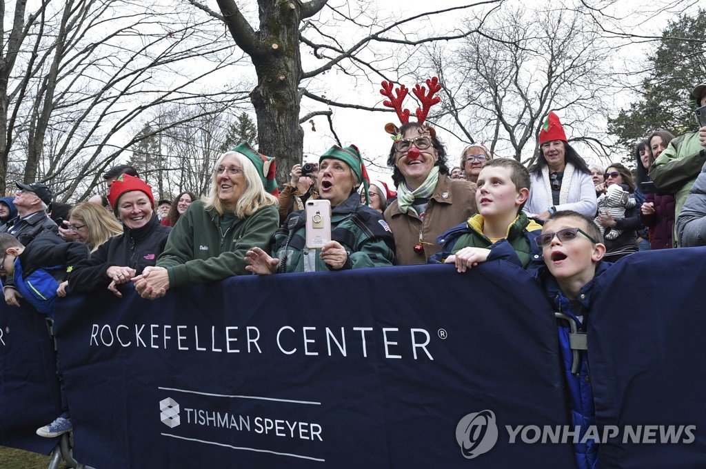 2019 Rockefeller Center Christmas Tree Cutting in Florida, NY