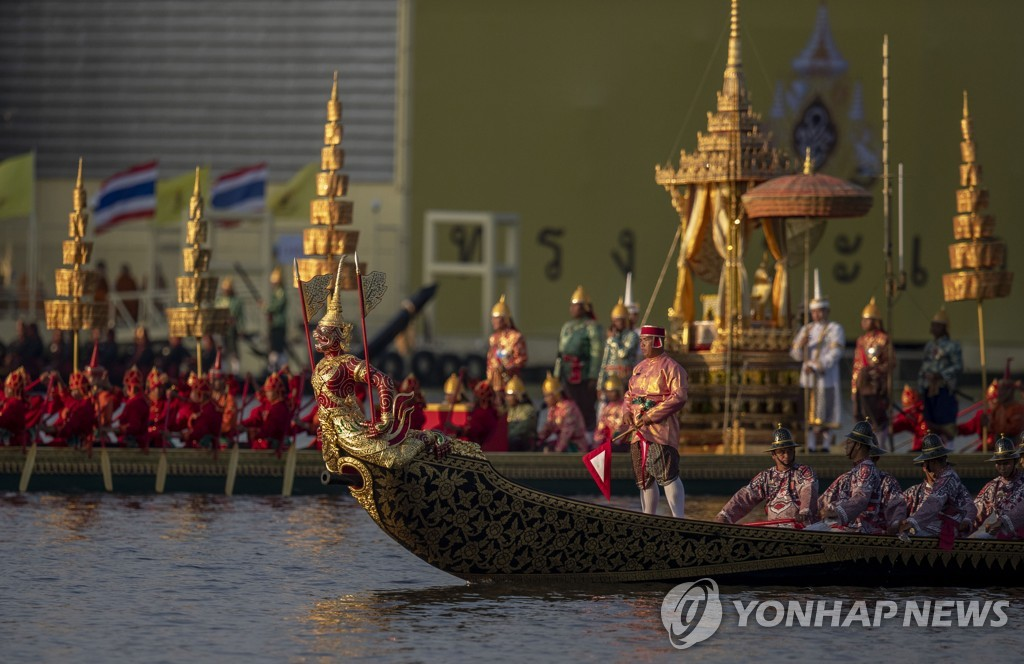 APTOPIX Thailand Royal Barge Procession