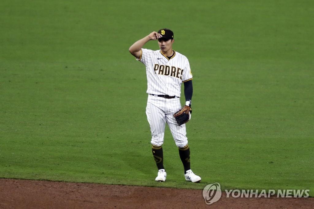 김하성, '3 루수', 3 타수 안타 … 타율 0.174