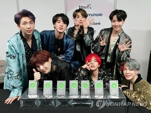 (LEAD) BTS ranked 8th on Billboard's Top Artists of 2018