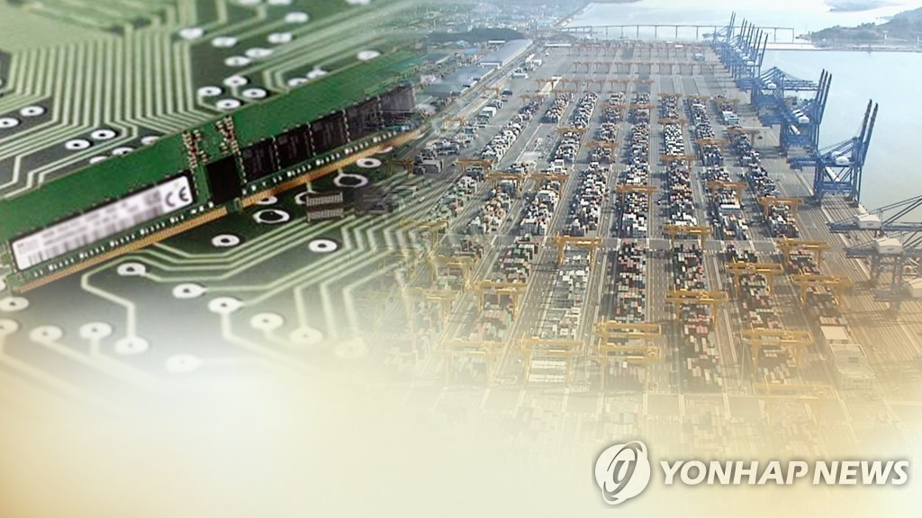 (3rd LD) S. Korea's exports slump deepens amid pandemic, chips still chug along - 2