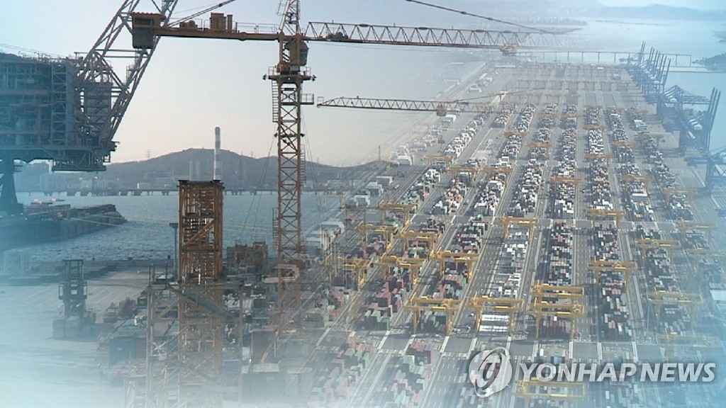 (LEAD) Korea's exports dip 10.3 pct in 2019 on weak chip sales, trade rows - 1