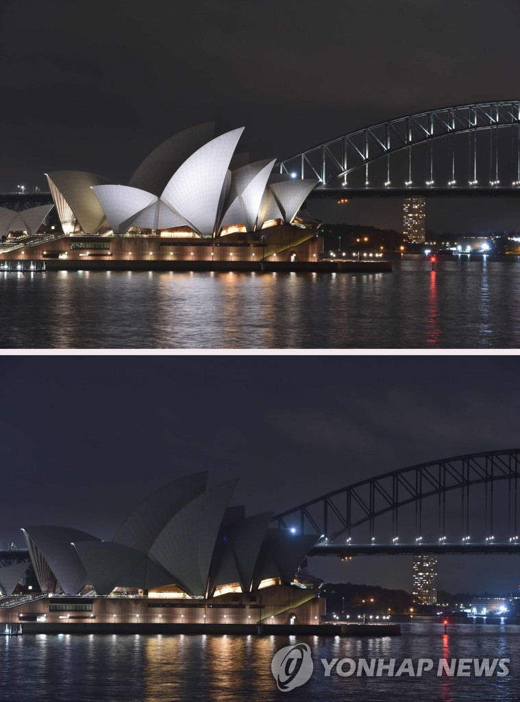 AUSTRALIA-ENVIRONMENT-ENERGY-EARTH-HOUR