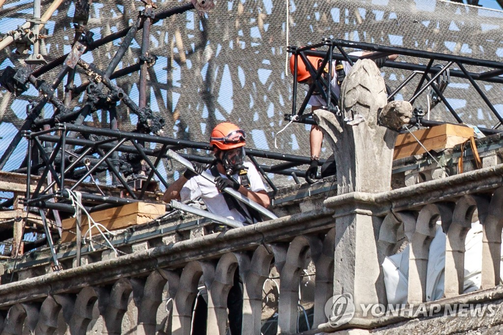FRANCE NOTRE DAME LEAD POLLUTION