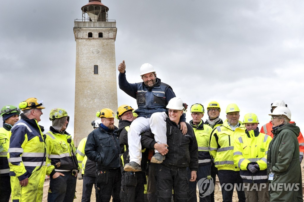 DENMARK LIGHT HOUSE RELOCATION
