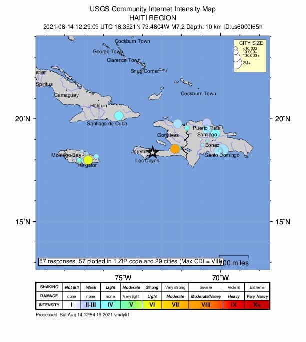 아이티 강진