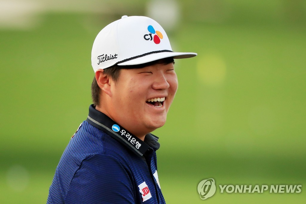 In this Getty Images photo, Im Sung-jae of South Korea smiles during a practice round for The Players Championship at TPC Sawgrass in Ponte Vedra Beach, Florida, on March 10, 2020. (Yonhap)