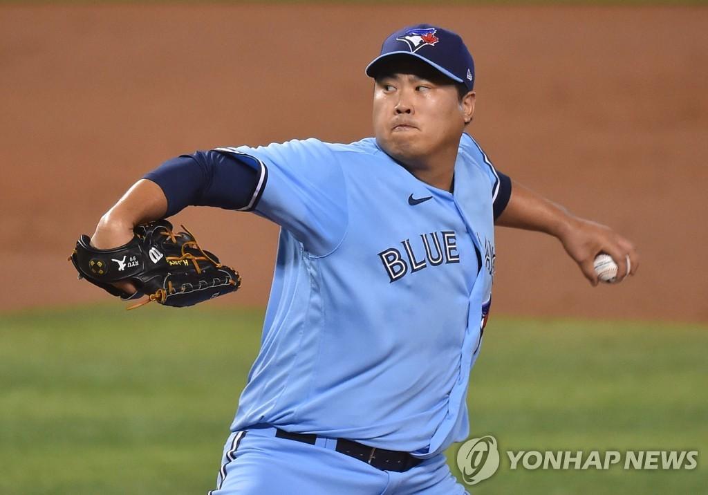 류현진 남은 경기서 몇 승 추가할까…'양키스에 물어봐' | 연합뉴스