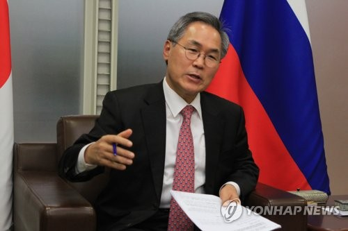 N. Korean leader unlikely to visit Russia this year: Seoul's ambassador