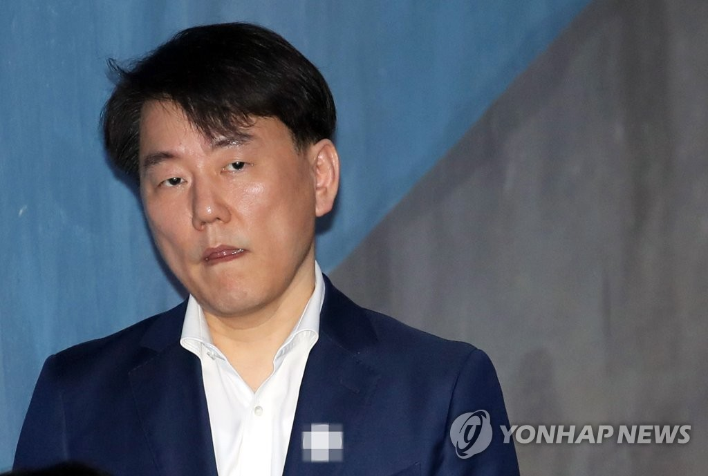 This file photo, taken on May 18, 2018, shows Lee Chang-suk, former head of the South Korean pro baseball club Nexen Heroes. (Yonhap)