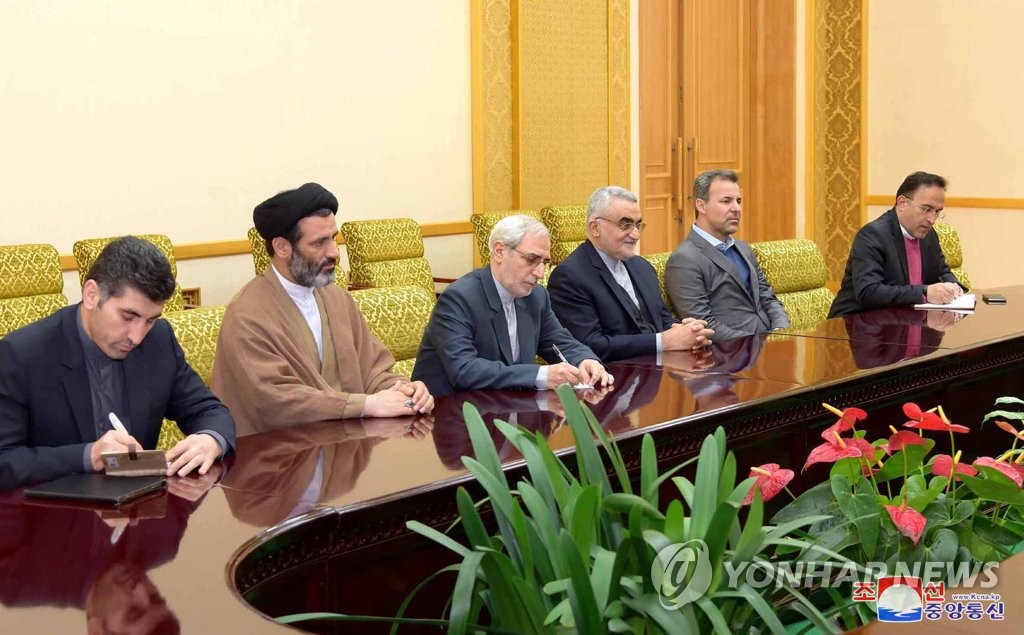 Iranian lawmakers in NK