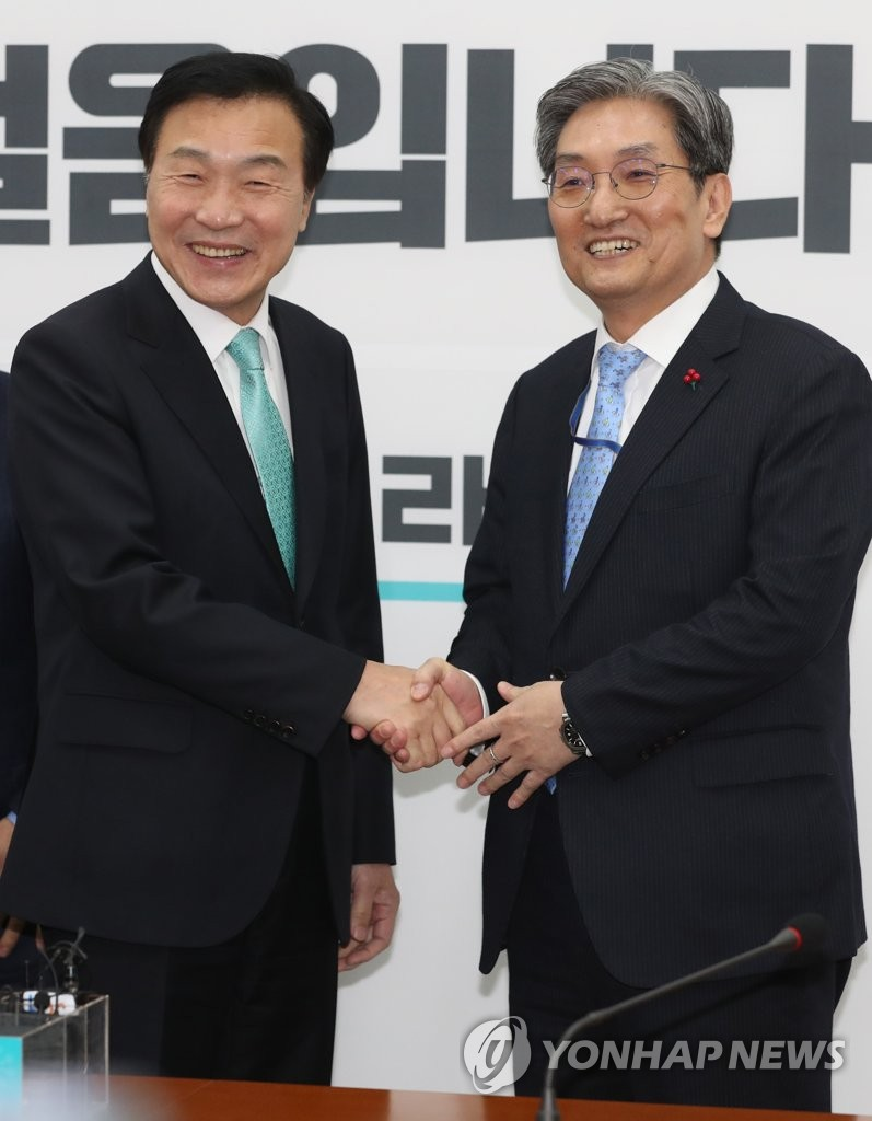 New presidential chief of staff meets opposition leader
