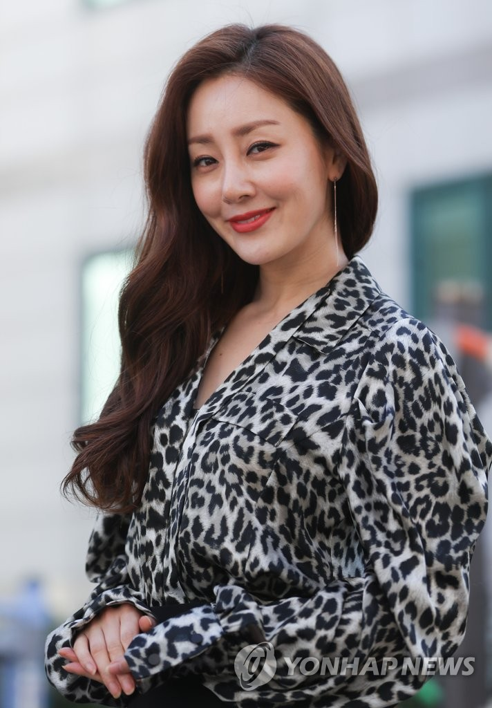 S Korean Actress Oh Na Ra Yonhap News Agency
