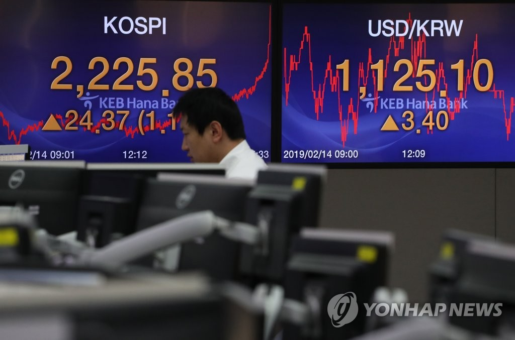 (LEAD) Seoul shares soar to four-month high on trade optimism
