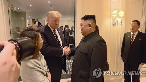 N.K. TV airs documentary on Kim-Trump summit