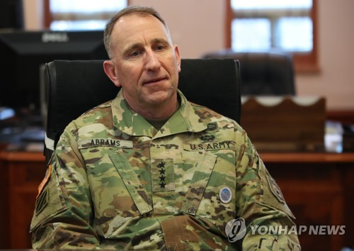 USFK chief immersed in Korean culture, food