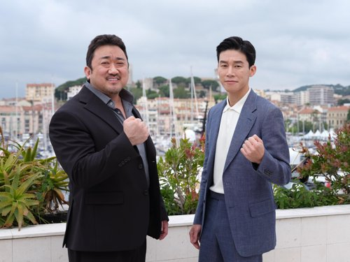S. Korean actors at Cannes Film Festival