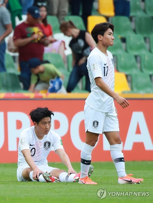 S. Korea fall to Portugal in U-20 World Cup