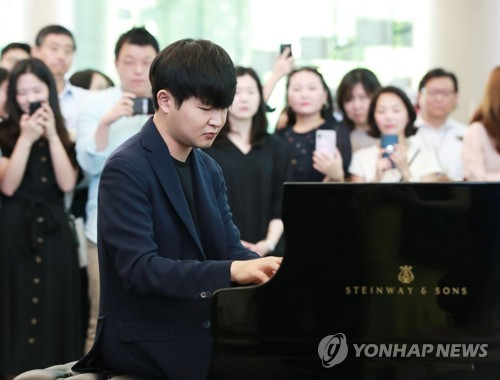 S. Korean pianist Sunwoo Yekwon