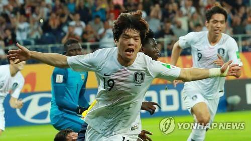 (U20 World Cup) S. Korea reach final for 1st time with win over Ecuador