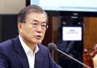 (LEAD) Moon promet de soutenir les discussions entre Pyongyang et Washington