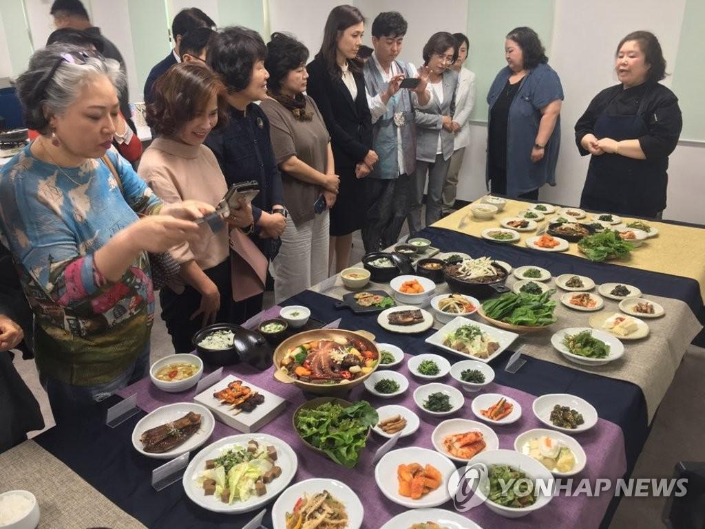원주 대표 음식 '관찰사 밥상' 개발