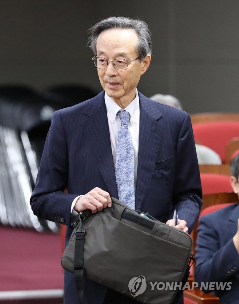 Ex-foreign chief Han Sung-joo | Yonhap News Agency