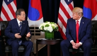 In talks with Trump, Moon vows 'reasonable' sharing of defense cost