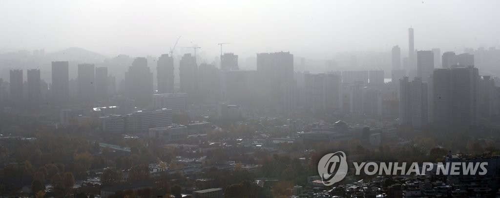 (LEAD) 32 pct of S. Korea's ultrafine dust comes from China: study