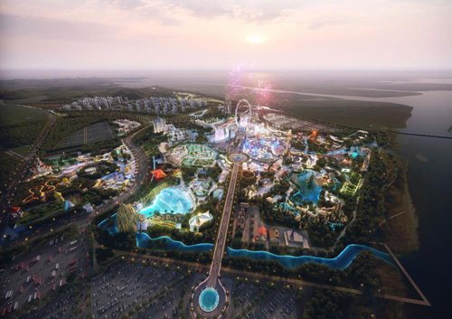 Asia's 2nd largest global theme park