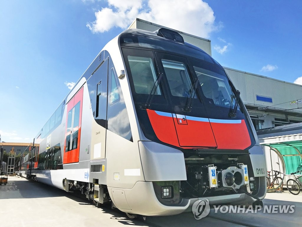 Hyundai Rotem delivers double-deck electric trains to Australia