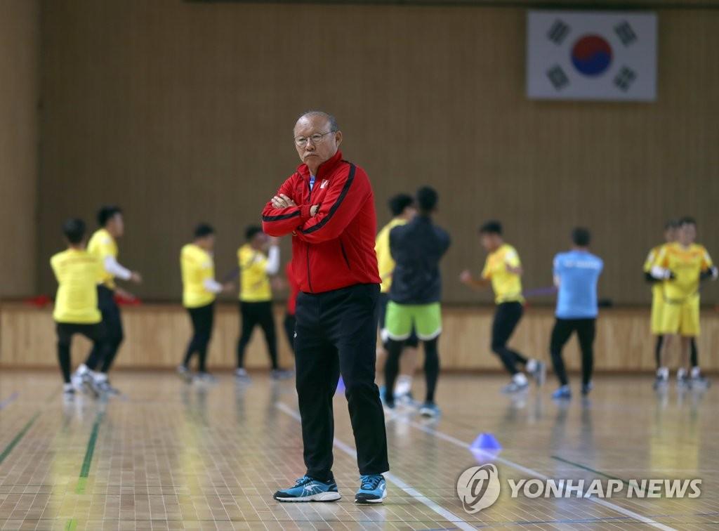 박항서 감독과 베트남 U-23 축구대표팀