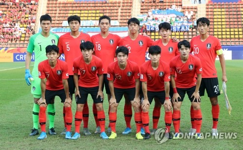 S. Korea to face Jordan in 1st knockout match at Olympic football qualifying tournament