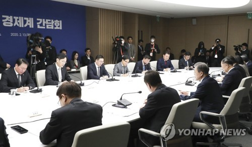 Cheong Wa Dae accepts conglomerates' call for policy steps against virus