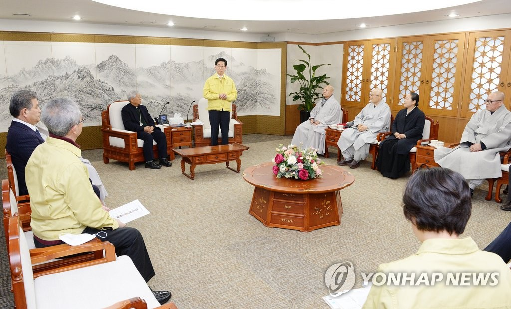 Governor meets religious leaders