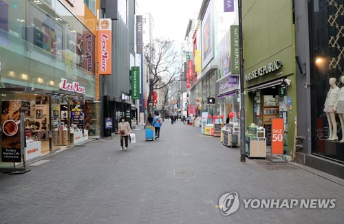 Korea's consumer sentiment dips to over 10-yr low in March