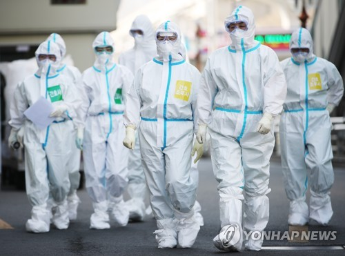 S. Korea reports 125 new virus cases, total now at 9,786
