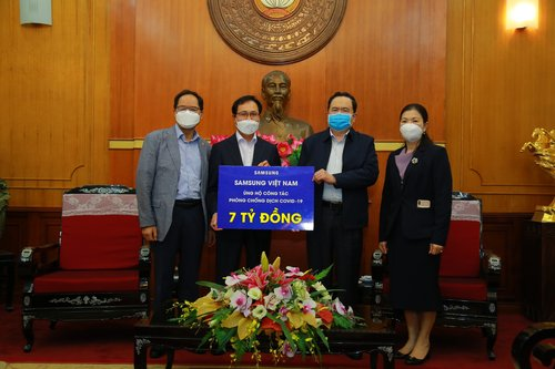 Samsung's donation to Vietnam