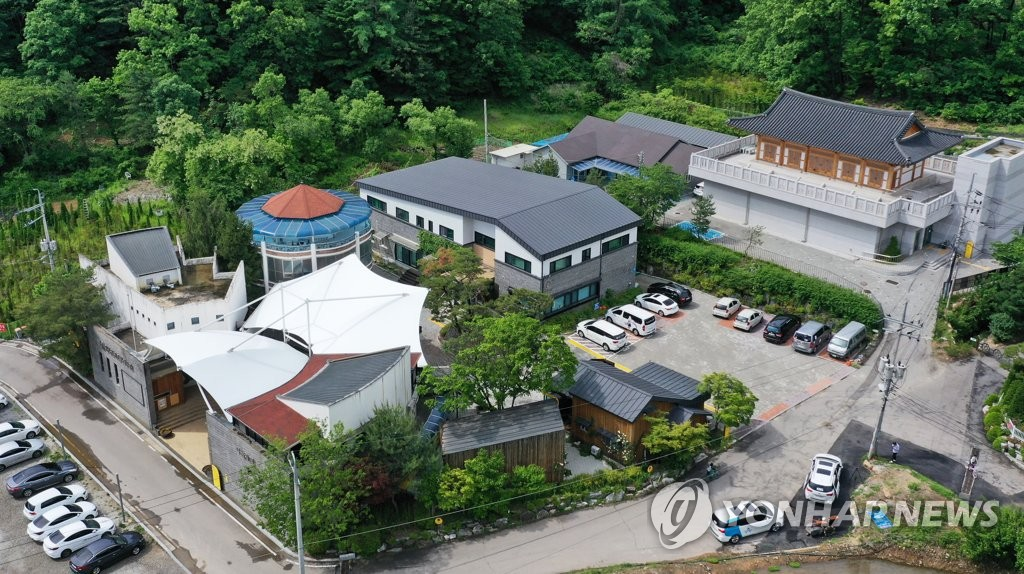 This file photo shows the House of Sharing in Gwangju, southeast of Seoul. (Yonhap)
