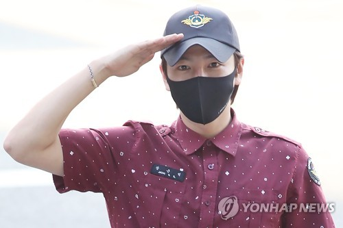 Actor Jang Keun-suk discharged from military service