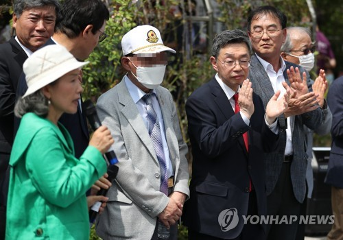 Damage suit against N.K. leader