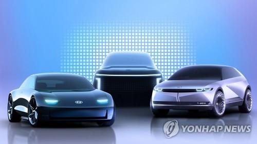 현대차, 전용 전기차 브랜드 '아이오닉(IONIQ)' 공개
