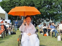 (LEAD) S. Korea commemorates memorial day for 'comfort women'