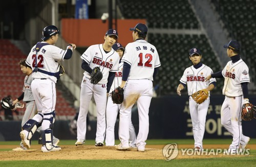 Manager with 3 Korean Series rings not fazed by tight pennant race